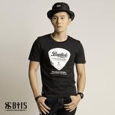 【BTIS】吉他Pick 圓領T-shirt / 黑色