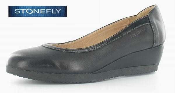 原價7300元,新品超低推薦...義大利 STONEFLY FRANCY 1 法蘭西通勤優雅舒適鞋105000 000黑 UK35~39