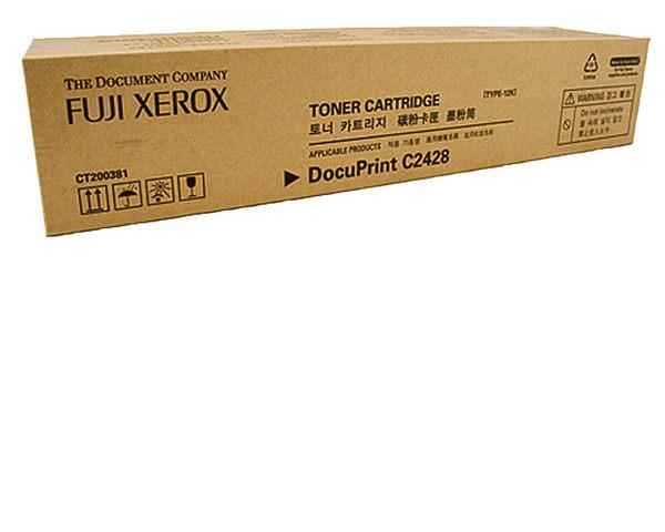CT200379   FujiXerox 黑色高容量碳粉匣 (15K)  DocuPrint C2428