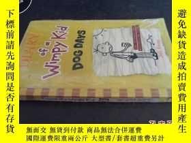 二手書博民逛書店DLARY罕見ofd Wimpykid dog days(未拆封