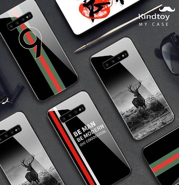 三星s10手機殼 男款個性創意s10 Plus玻璃s10e全包時尚軟矽膠潮牌ins風限量版頂膜薄套超