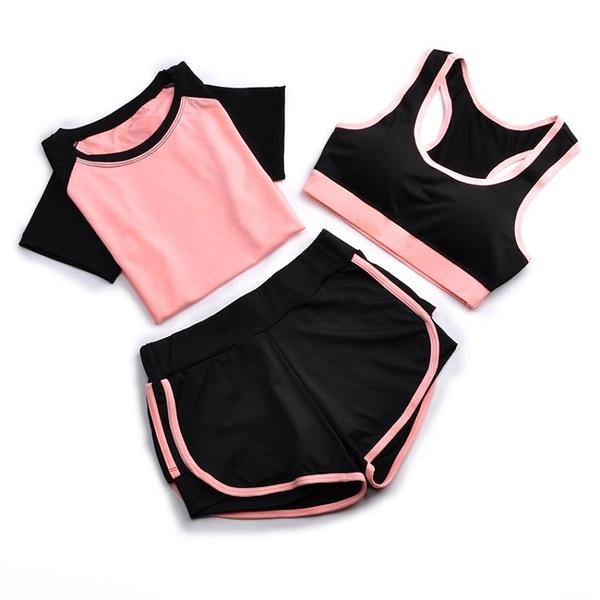 瑜伽服 瑜伽服春夏天速干健身房跑步寬松大碼健身衣顯瘦運動套裝女 小衣裡