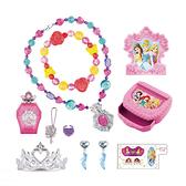 迪士尼公主皇冠珠寶盒組