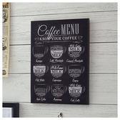 布質壁畫 黑板風 COFFEE NITORI宜得利家居