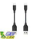 [106 東京直購] Anker AK-B8135011 (0.1m2入) 傳輸線 連接線 PowerLine Micro USB cable for Galaxy/Xperia/Nexus/Android