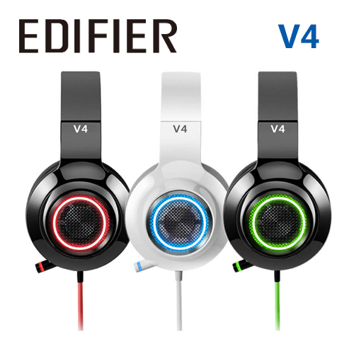 EDIFIER 漫步者 V4 電競有線耳機 7.1聲道 USB輸入