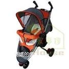 [ 家事達 ] Mother's Love 高級便攜型 三輪手推車 -橘色   特價
