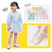 兒童襪子棉質秋季薄款女童船襪蕾絲花邊公主襪純色網眼寶寶短襪子  雙11購物節