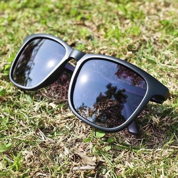 【南紡購物中心】2is CobyD 太陽眼鏡 偏光│大方框│黑色│抗UV400