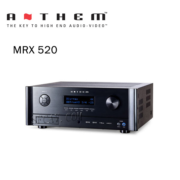 【新竹勝豐群音響】Anthem MRX 520 環繞綜合擴大機 納入國家級聲學研究技術