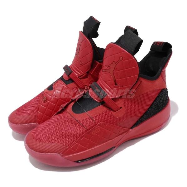 【六折特賣】Nike Air Jordan XXXIII PF University Red 紅 黑 喬丹 33代 男鞋 籃球鞋 AJ33【ACS】 BV5072-600