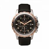 【Fossil】/化石計時碼表黑色錶盤(男錶 女錶 Watch)/FS4545/台灣總代理原廠公司貨兩年保固