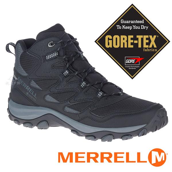 【MERRELL 美國】WEST RIM SPORT MID男GT中筒多功能健行鞋『黑』036519 多功能鞋.登山鞋