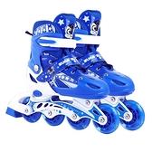 直排輪 溜冰鞋全套裝旱冰鞋滑冰輪滑鞋初學者男女童小孩中大童可調節【快速出貨八折優惠】