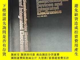 二手書博民逛書店Semiconductor罕見Devices and Integ