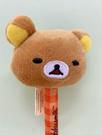 【震撼精品百貨】Rilakkuma San-X 拉拉熊懶懶熊~拉拉熊絨毛造型原子筆/中性筆-哥哥橘格#26031