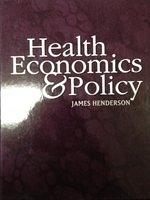 二手書博民逛書店《Health Economics and Policy》 R2