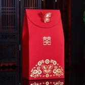 婚禮喜糖盒 喜糖袋50只 中國風