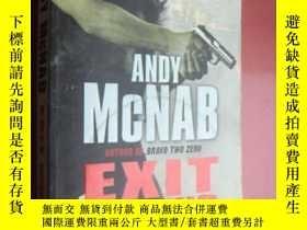 二手書博民逛書店Exit罕見Wound (ANDY McNAB) 英文原版大32