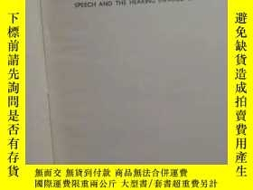 二手書博民逛書店SPEECH罕見AND THE HEARING IMPAIRED