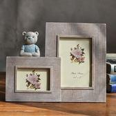 5寸3寸相框 可愛小熊彩繪相框閨蜜送禮 樹脂相框擺件 組合相框『CR水晶鞋坊』