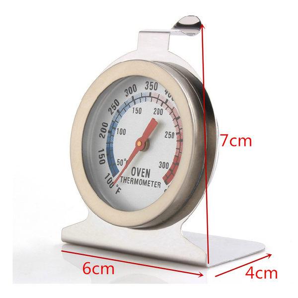 不鏽鋼 烤箱溫度計 指針式溫度計 可直接放入烤箱使用 50-300度