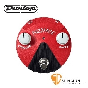 Dunlop FFM6 迷你FUZZ 破音效果器 Jimi Hendrix 簽名款【Band of Gypsys Fuzz Face Mini/FFM-6】