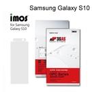 【iMos】3SAS系列保護貼 Samsung Galaxy S10 (6.1吋) 超潑水、防污、抗刮