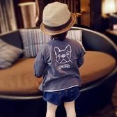 2019春夏季童裝男童外套開衫薄款寶寶衣服空調衫防曬衣女童上衣棉