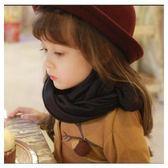 [24hr-快速出貨]  兒童 圍巾 韓版 男女 寶寶 柔軟 純色 棉麻 絲巾 簡約 百搭 經典 造型