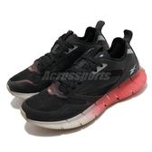 Reebok 慢跑鞋 ZIG Kinetica Horizon 黑 紅 女鞋 透氣 緩震 運動鞋【ACS】 FW6266