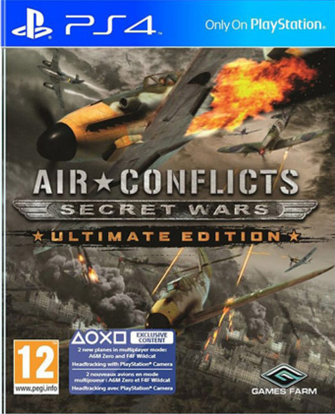PS4 藍天對決 秘密戰爭終極版 -英文版- Air Conflicts: Secret War Ultimate Edition