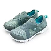 LIKA夢 LOTTO 輕量健走鞋 EASY WEAR 系列 灰藍綠 6748 女