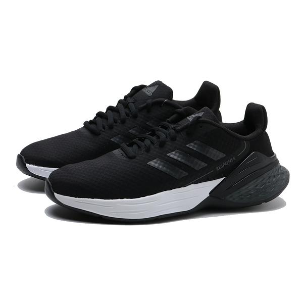 ADIDAS 慢跑鞋RESPONSE SR 黑 網布 運動 休閒 女 (布魯克林) FX3642