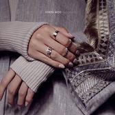 蜂巢蜂窩菱形幾何仿鑽真金保色戒指指環女