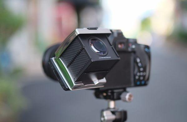【聖影數位】GGS 3倍液晶折疊磁吸式觀景器 MJ-S1 黑色 適用A7II A7III A9 RX100 RX10