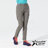 PolarStar 女 彈性抗UV休閒長褲『灰』P20354 戶外│露營│釣魚│休閒褲│釣魚褲│登山褲│耐磨褲