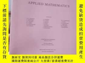二手書博民逛書店QUARTERLY罕見OF APPLIED MATHEMATIC