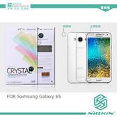 摩比小兔~ NILLKIN Samsung Galaxy E5 超清防指紋保護貼(含鏡頭貼套裝版)
