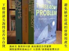 二手書博民逛書店the罕見three-body problem,the dark forest,death's end三體三部曲英
