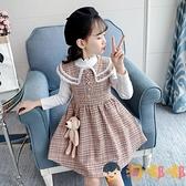 女童套裝裙秋裝兒童打底衣連身裙兩件套潮【淘嘟嘟】