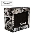 Comet GA-10 超值 彩繪銀色10瓦 吉他音箱(電吉他音箱-內建破音效果) GA10