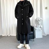 大衣外套男中長款風衣韓版英倫風大衣