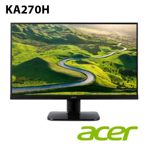 ACER KA270H 27型 薄邊框 液晶螢幕