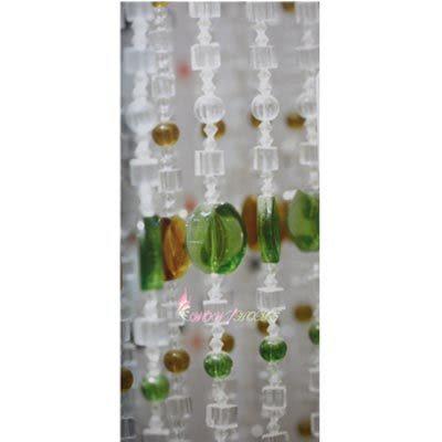 微笑城堡[開運水晶簾85菱片珠](每條每米140元)窗簾 門簾(華麗訂製)獨家產品(全國最低價)10條起售