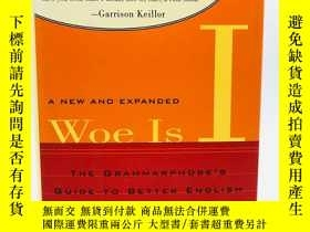 二手書博民逛書店Woe罕見Is I: The Grammarphobe s Gu