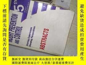 二手書博民逛書店INJURY罕見PREVENTION AND CONTROL (