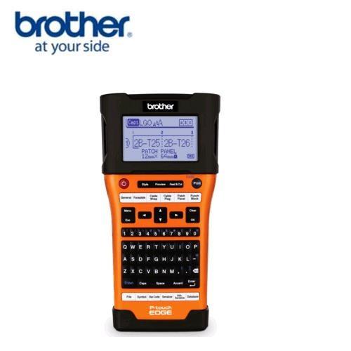Brother PT-E550W 工業級 單機/電腦 兩用 線材標籤機
