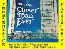 二手書博民逛書店Closer罕見Than Ever: Vocal Score (大16開) 【詳見圖】,樂譜Y5460 Dav