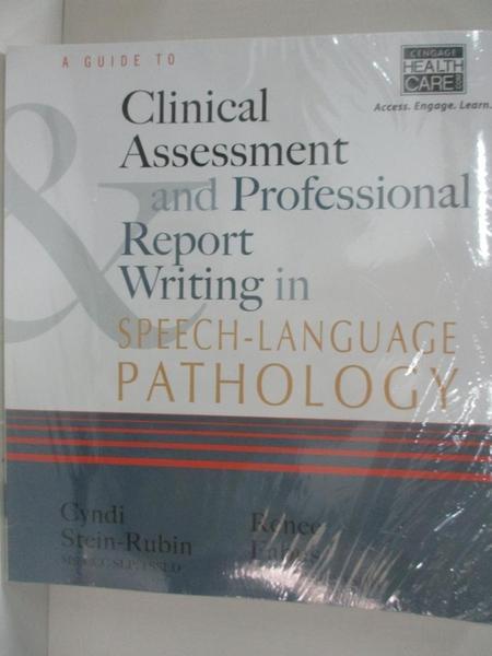【書寶二手書T1/大學理工醫_DS2】A Guide to Clinical Assessment and Professiona…